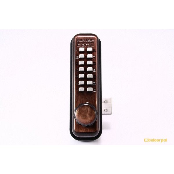 10セット入 TAIKO(タイコー)  太幸 No.5100GB デジタルロック面付錠 ロングラッチ/固定サムターン