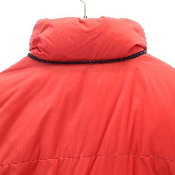 モンベル ゼロポイント ダウンジャケット L レッド mont-bell ZERO POINT GORE DRYLOFT メンズ 古着 201214|big-2nd|03