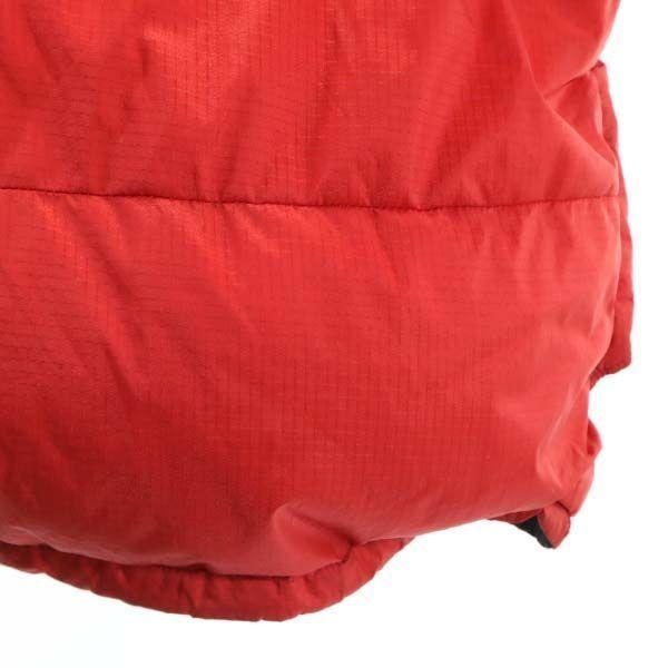 モンベル ゼロポイント ダウンジャケット L レッド mont-bell ZERO POINT GORE DRYLOFT メンズ 古着 201214|big-2nd|04