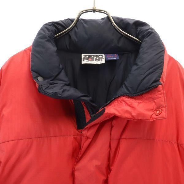 モンベル ゼロポイント ダウンジャケット L レッド mont-bell ZERO POINT GORE DRYLOFT メンズ 古着 201214|big-2nd|05