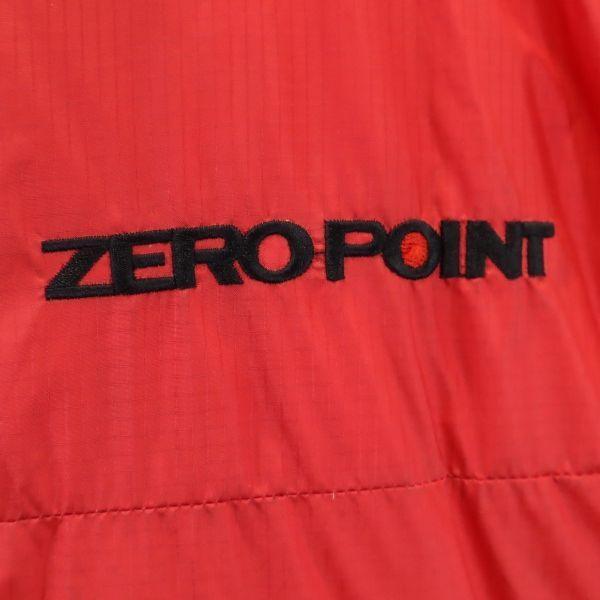 モンベル ゼロポイント ダウンジャケット L レッド mont-bell ZERO POINT GORE DRYLOFT メンズ 古着 201214|big-2nd|06