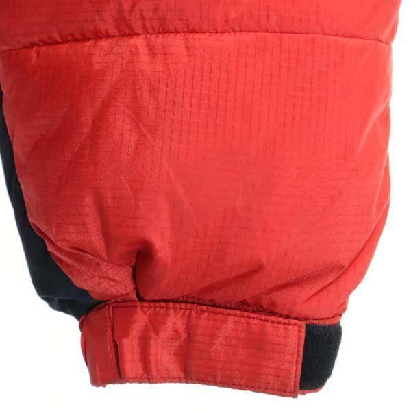 モンベル ゼロポイント ダウンジャケット L レッド mont-bell ZERO POINT GORE DRYLOFT メンズ 古着 201214|big-2nd|07