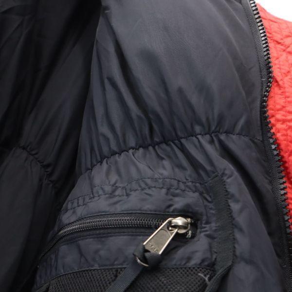 モンベル ゼロポイント ダウンジャケット L レッド mont-bell ZERO POINT GORE DRYLOFT メンズ 古着 201214|big-2nd|08