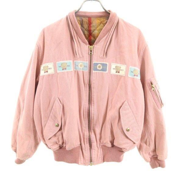 人気 ピンクハウス MA-1風 ラベル ブルゾン PINKHOUSE ジャケット ピンク レディース 191127, シウラムラ f48df621