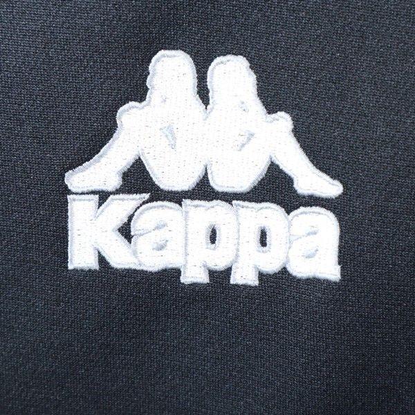 カッパ 90s ロゴテープ ジャージ ジャケット KAPPA 日本製 ヴィンテージ O 黒 メンズ 200128 big-2nd 06