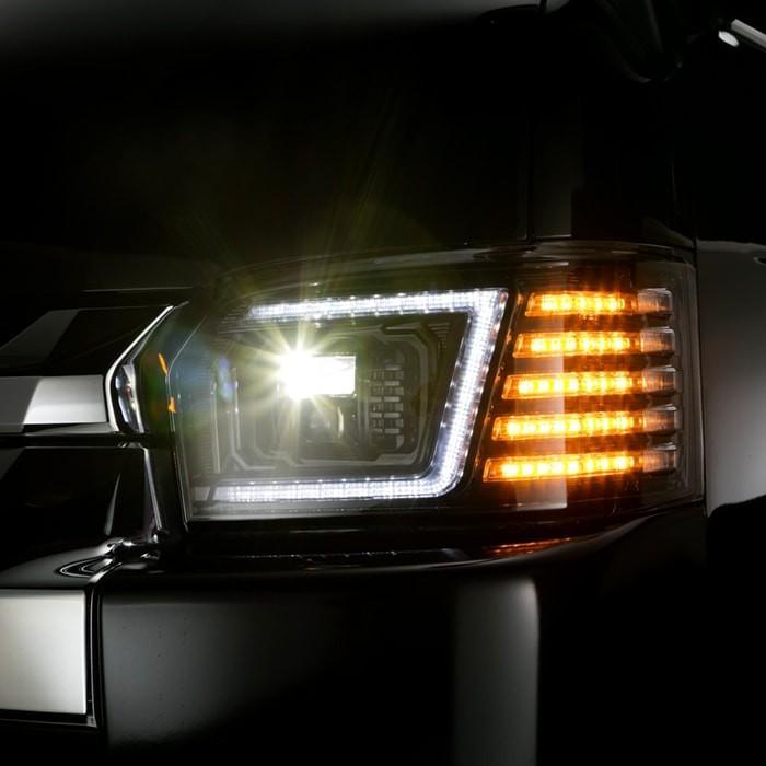 コプラス PLATINUM LED HEAD LAMP for HIACE|プラチナLEDヘッドランプ for ハイエース|トヨタ|ハイエース|LEDヘッドランプ|ヘッドランプ|big-dipper7|12