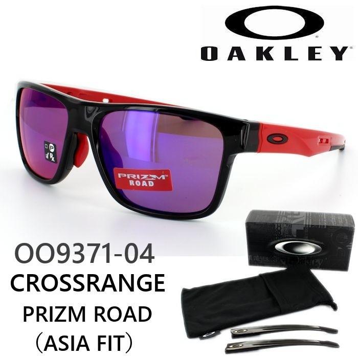 オークリー サングラス スポーツプリズムロード OAKLEY CROSSRANGE クロスレンジ OO9371 04 カジュアル 国内正規商品