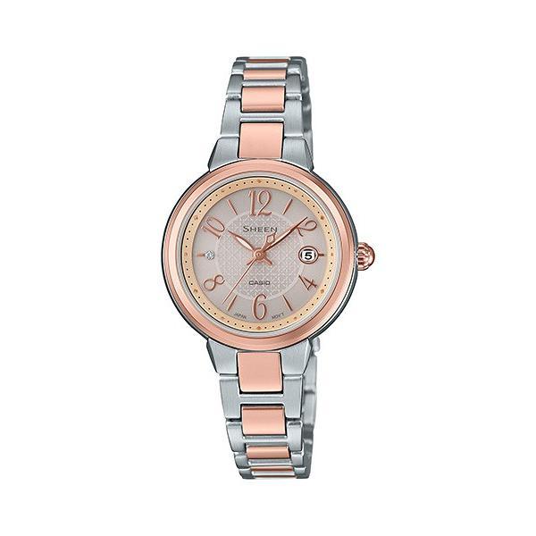 独特な店 国内正規品 CASIO SHEEN CASIO カシオ シーン SHS-4503SPG-9AJF ソーラー レディース腕時計 SHEEN SHS-4503SPG-9AJF, クビキムラ:98e4ca61 --- airmodconsu.dominiotemporario.com