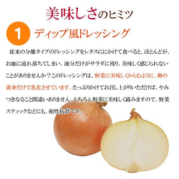 野菜が美味しいディップ風ドレッシング  お得な 200ml×3本セット 手作り無添加|bigfoota-shop|02