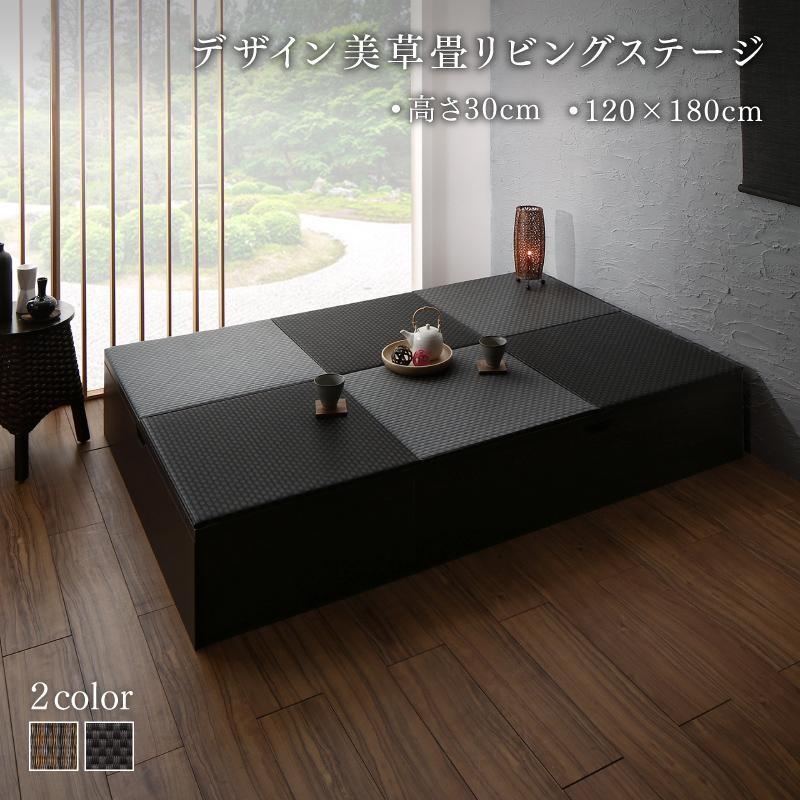 畳ボックス 収納 日本製 ベンチボックス 120cm×180cm 高さ30cm ロータイプ