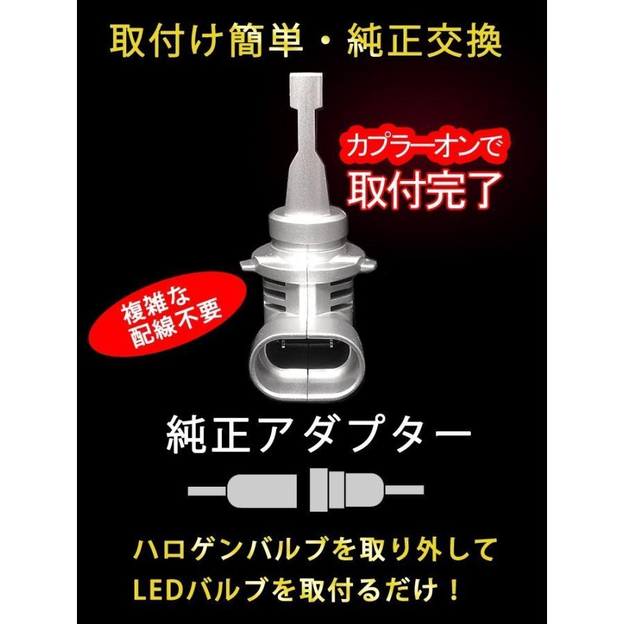 業界最小 セレナ H28.8〜 C27 LEDヘッドライト ロービーム ハイビーム H11 startech LEDバルブ 12000ルーメン 車検対応 1年保証 2個セット bigkmartjapan 07