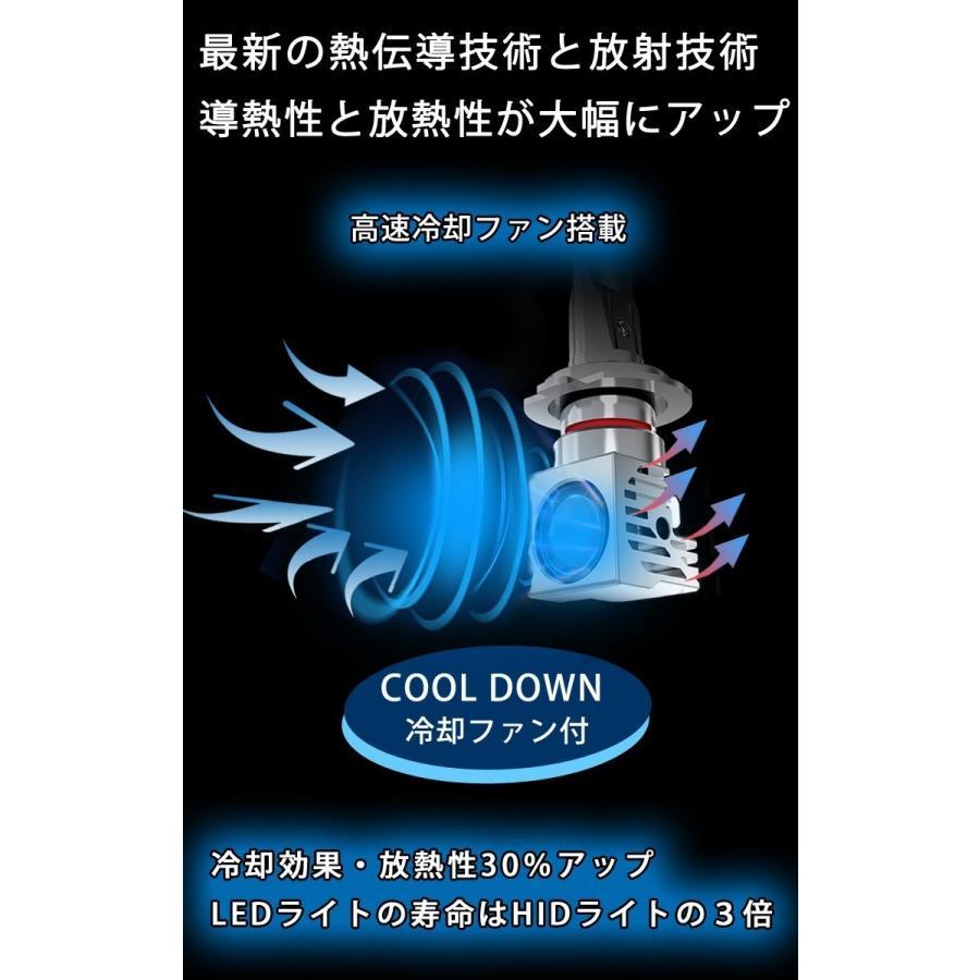 業界最小 アクア H23.12〜H29.06 ロービーム H11 LEDヘッドライト DIABLO startech LEDバルブ 12000ルーメン 車検対応 1年保証 2個セット bigkmartjapan 06