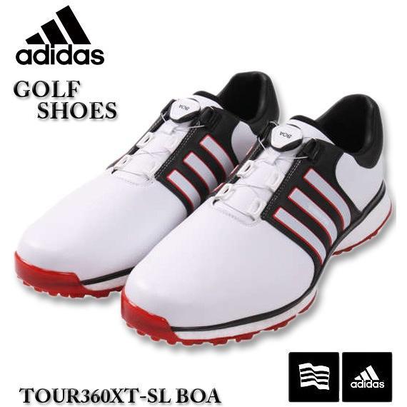 大きいサイズ メンズ adidas golf(アディダスゴルフ) ゴルフシューズ(ツアー360XT スパイクレス ボア) 30cm