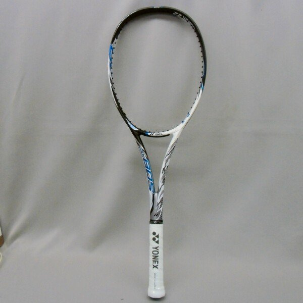 ソフトテニスラケット 後衛 ヨネックス アイネクステージ80S (ホワイト/ブルー) 高校生 bigsports 03