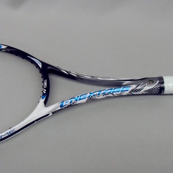 ソフトテニスラケット 後衛 ヨネックス アイネクステージ80S (ホワイト/ブルー) 高校生 bigsports 05