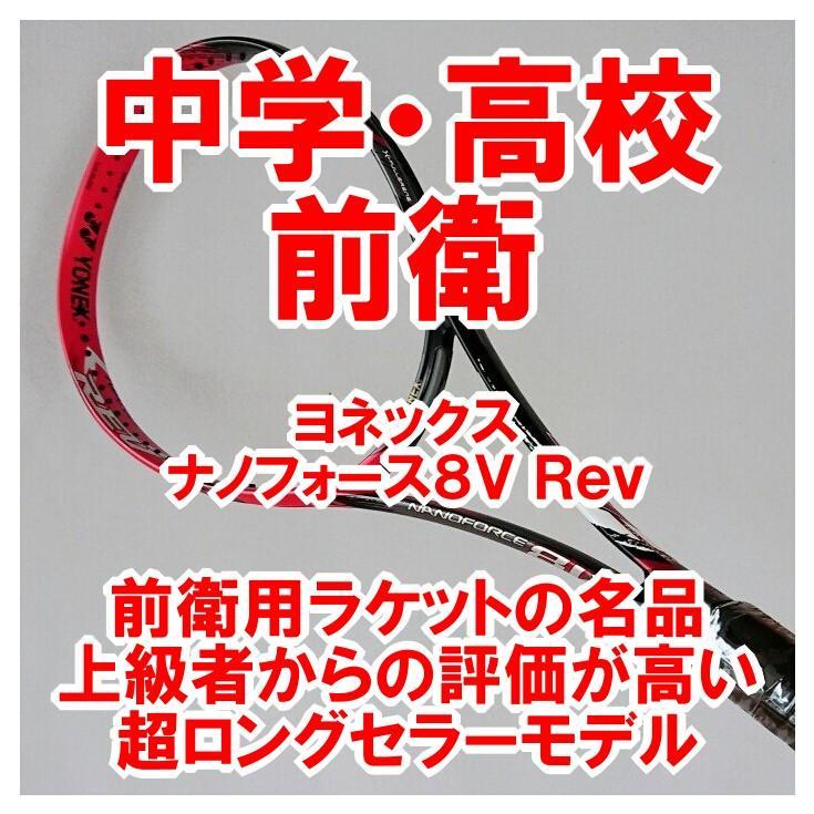 最高品質の ヨネックス ソフトテニスラケット 前衛 ナノフォース8V REV(フレイムレッド) NF8VR-596 NF8VR-596, 南海部郡:6308336d --- airmodconsu.dominiotemporario.com