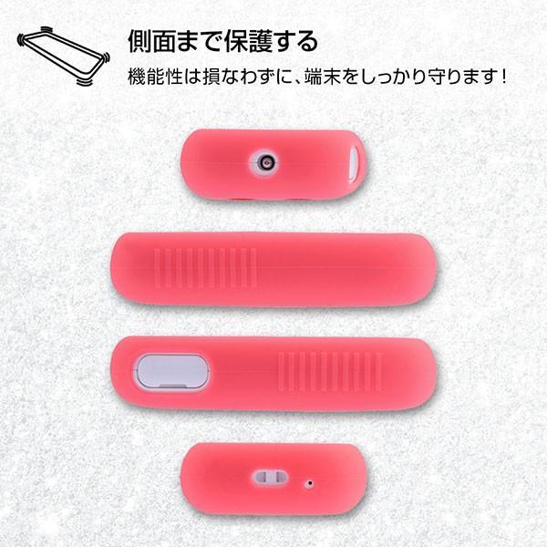 ☆ SoftBank みまもりケータイ4 専用 シリコンケース シルキータッチ ブルー (半透明) RT-MK4C1/A|bigstar|06