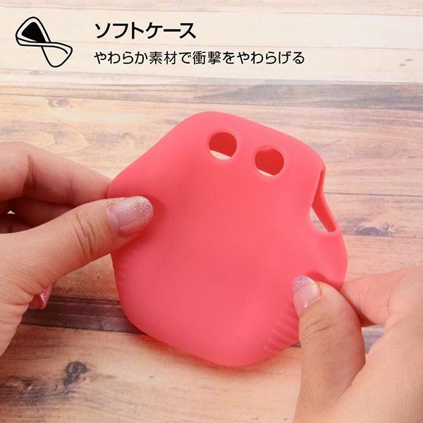☆ SoftBank みまもりケータイ4 専用 シリコンケース シルキータッチ ピンク (半透明) RT-MK4C1/P bigstar 03