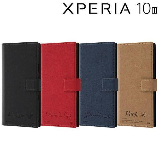 ディズニー Xperia 10 III 耐衝撃 手帳型レザーケース RT-RDXP10M3TBC8 bigstar