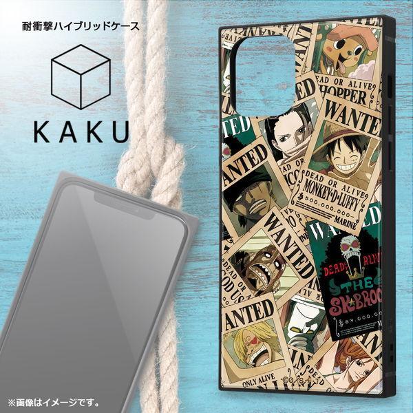 ワンピース iPhone 12 / iPhone 12 Pro (6.1インチ) 耐衝撃ハイブリッドケース KAKU 手配書 IQ-OP27K3TB/OP007 (メール便送料無料)|bigstar|02