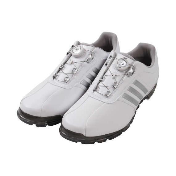 高品質の人気 大きいサイズ adidas プラス) メンズ adidas golf ゴルフシューズ(ピュアメタル ボア ボア プラス) ホワイト×シルバー, 艶スパ:d024608b --- airmodconsu.dominiotemporario.com
