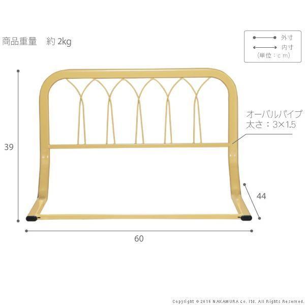 布団が窮屈にならない ベッドガード  転落防止 / ハイタイプ 大人 介護 ベッド用柵 ベッド用フェンス ベッドサイドガード f bikagu 03