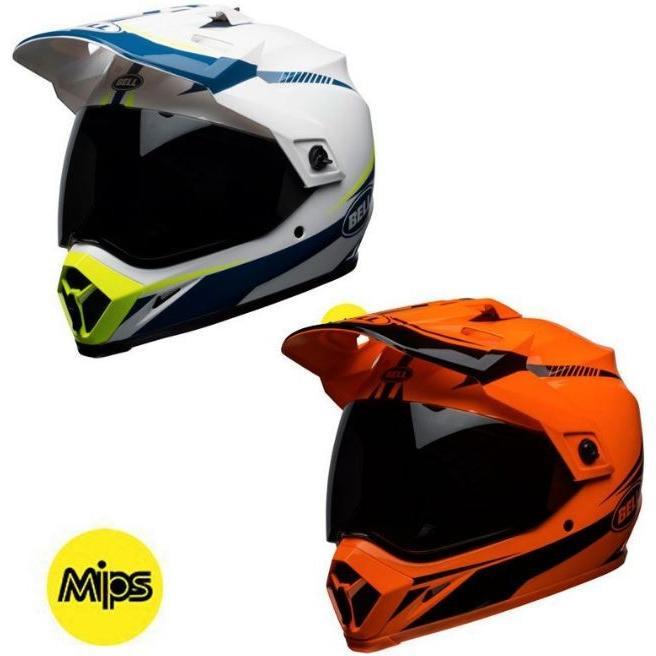 BELL MX-9 ADVENTURE MIPS TORCH HELMET フルフェイスヘルメット シールド付オフロード