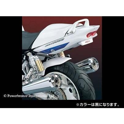 品質のいい Power Bronze パワーブロンズ 300-S118-003 HUGGER リアインナーフェンダー ブラック ノンメッシュ GSX1400(ALL), 【限定セール!】 4618ed98