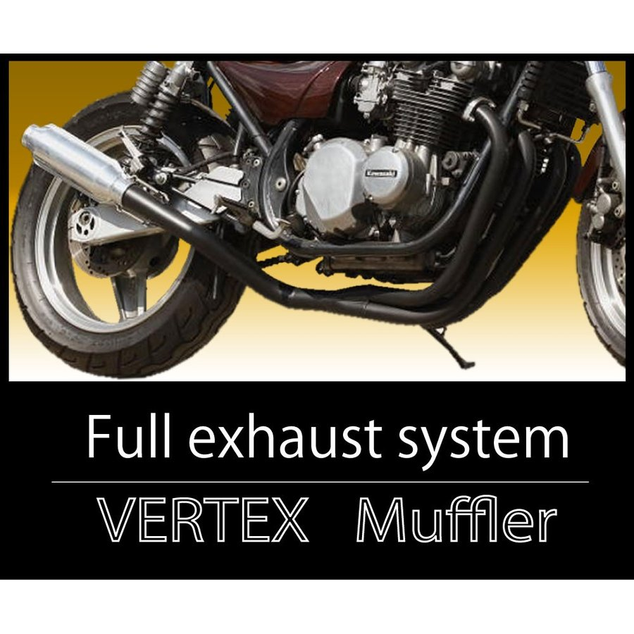 最新のデザイン CB400SF VTEC マフラー モナカ管 ブラック バーテックス CB400SF スーパーフォア マフラー, アルキメデススパイラル 2e04a01a