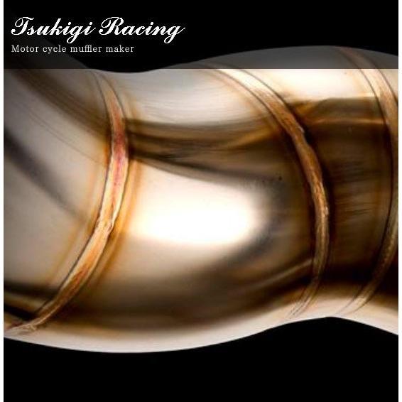 月木レーシング ツキギ 02S-2074 TRエキゾーストシステム オールチタン オーバルサイレンサー フルエキゾーストマフラー GSX-R1000 マフラー