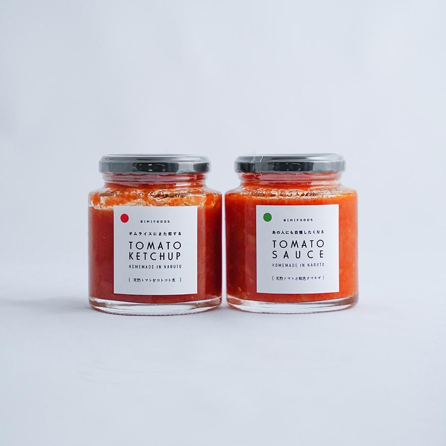 特製トマトケチャップ/トマトソースのセット|bimifoods-store