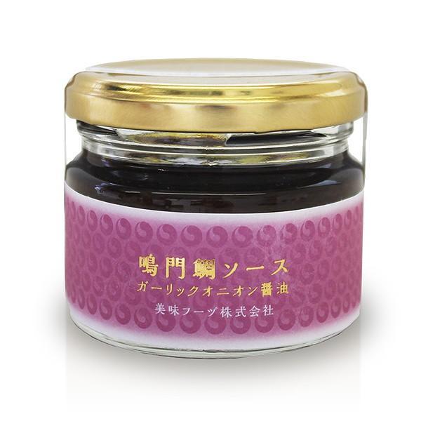 鳴門鯛ソース ガーリックオニオン醤油|bimifoods-store