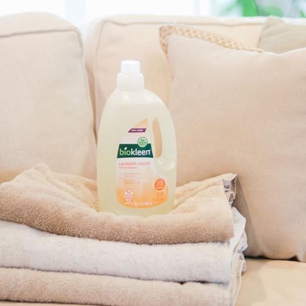【ランドリーリキッド 1.9L】 洗濯洗剤 洗剤 リキッド 大容量 オーガニック ドライ 部屋干し 生乾き 赤ちゃん おしゃれ着 子供服 ニオイ 敏感肌 安心|biokleen-shop|06