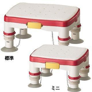 アロン化成 高さ調節付浴槽台R ソフトクッションタイプ ミニ