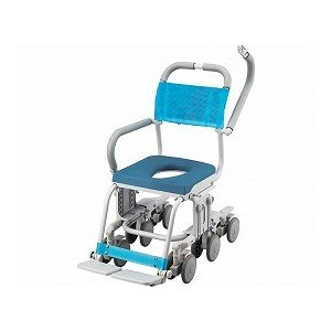 専門家による無料介護相談付 シャトレチェア12輪 O型穴有りシート (SW-6060)