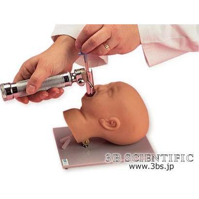 無料健康相談対象製品 世界基準 3Bサイエンフィティック社 模型 挿管練習用新生児頭部モデル 鍼灸 模型