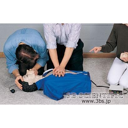 無料健康相談対象製品 世界基準 3Bサイエンフィティック社模型 インジケーター付き心肺蘇生トルソー 鍼灸 模型