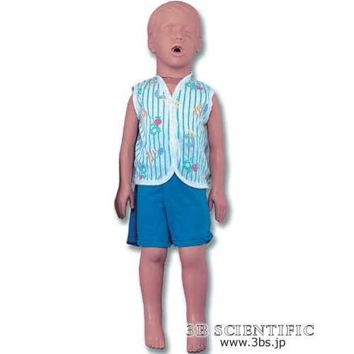 無料健康相談対象製品 世界基準 3Bサイエンフィティック社模型 小児心肺蘇生法マネキン 鍼灸 模型