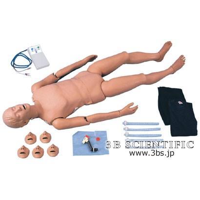 無料健康相談対象製品 世界基準 3Bサイエンフィティック社模型 インジケーター付き成人心肺蘇生マネキン 鍼灸 模型