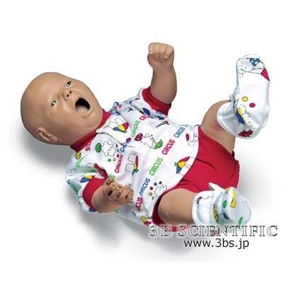 無料健康相談対象製品 世界基準 3Bサイエンフィティック社 模型 乳児看護モデル 鍼灸 模型