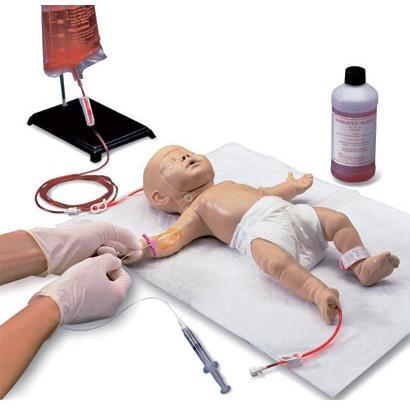無料健康相談対象製品 世界基準 3Bサイエンフィティック社 模型 乳児静脈アクセスシミュレーター 鍼灸 模型