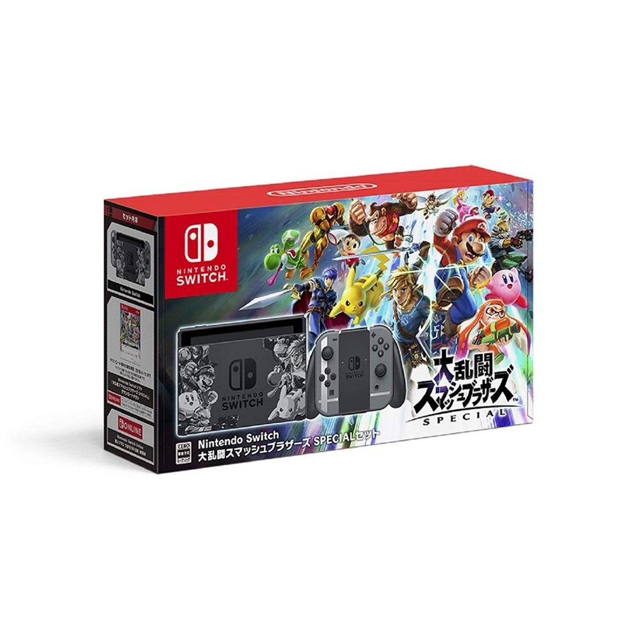 Nintendo Switch 大乱闘スマッシュブラザーズ SPECIALセット 新品 Switch 本体