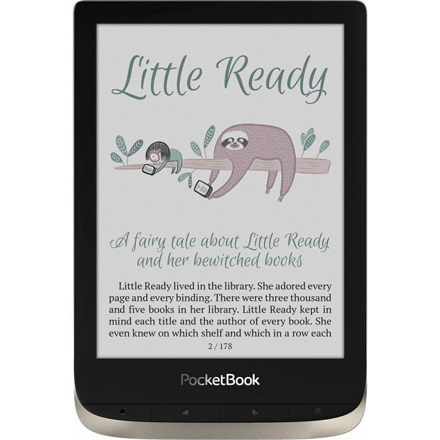 "PocketBook Color (Moon Silver). Display: 6"" E Ink Kaleido; Dual Core (2×1 GHz); RAM: 1 GB; Flash memory: 16 GB; Wi-Fi; Audio; Frontl 並行輸入品|birmingham-ex|03"
