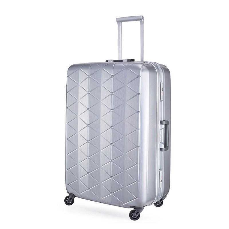 スーパーライト MGC1-69 (約93L) キズが目立たない 大容量 軽量 フレーム スーツケース サンコー bisho 12