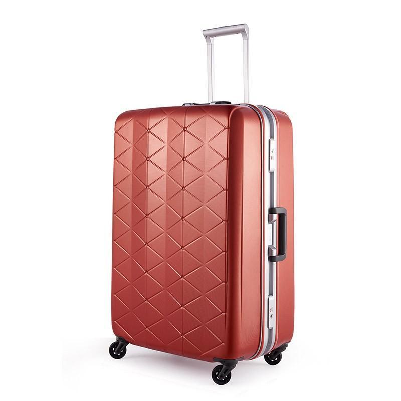 スーパーライト MGC1-69 (約93L) キズが目立たない 大容量 軽量 フレーム スーツケース サンコー bisho 07