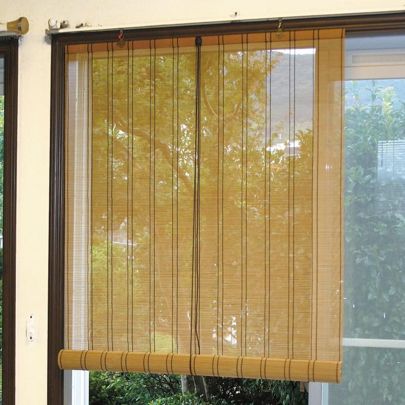 竹ヒゴすだれ 千鳥節・一本返し仕上げ 幅88×長さ172cm SUIWATO88(送料無料)