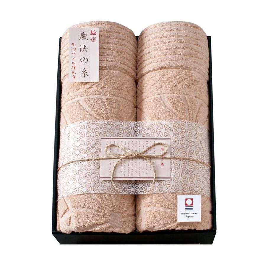 極選 魔法の糸 今治製パイル綿毛布2P AI-30020(送料無料)