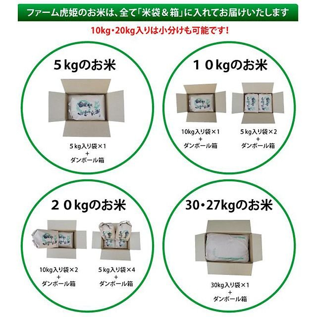 2020年度 米 お米 5kg あきたこまち 滋賀県産 白米 玄米 ファーム虎姫 送料無料 滋賀の幸|biwaoumi|06