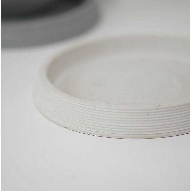 ライン受皿 12cm 【サボテン/頑丈/おしゃれ/塊根植物/多肉/黒プラスチック鉢 】コーデックス biyori 09
