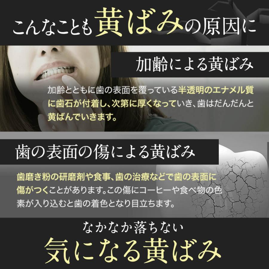 ホワイトニング 歯磨き粉 歯磨きジェル ブレッシュホワイトニング (30g/3個) 黄ばみ やに 歯周病 口臭対策 ポリリン酸 セルフ 美白|bizento|11